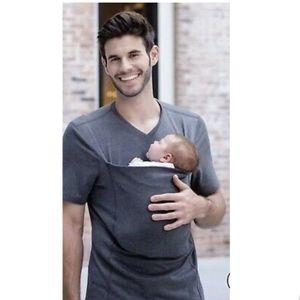 Lalabu Mens Dad Shirt Daddy Hug T-shirt